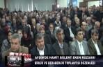 Afşin Teşkilatını Ziyaretimiz-Aksu Tv